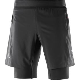 Salomon Fast Wing Twinskin Shorts Men Black